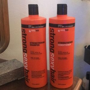 Sexy Hair Accessories - Strong sexy hair shampoo and conditioner